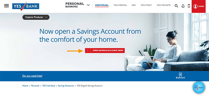 OPEN SAVINGS ACCOUNT NOW