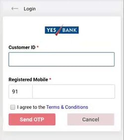 yes bank whatsapp banking login