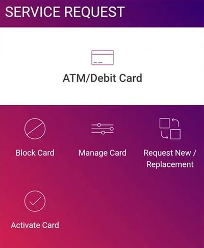 activate blocked atm card