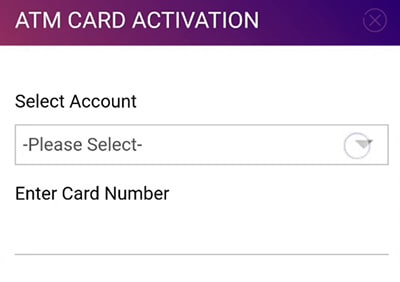 unblock sbi debit card