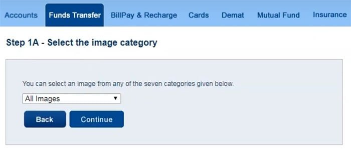 how to register third party transfer of hdfc bank