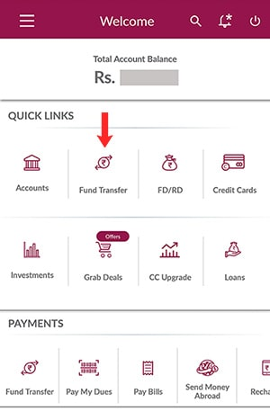 axis bank add beneficiary for funds transfer