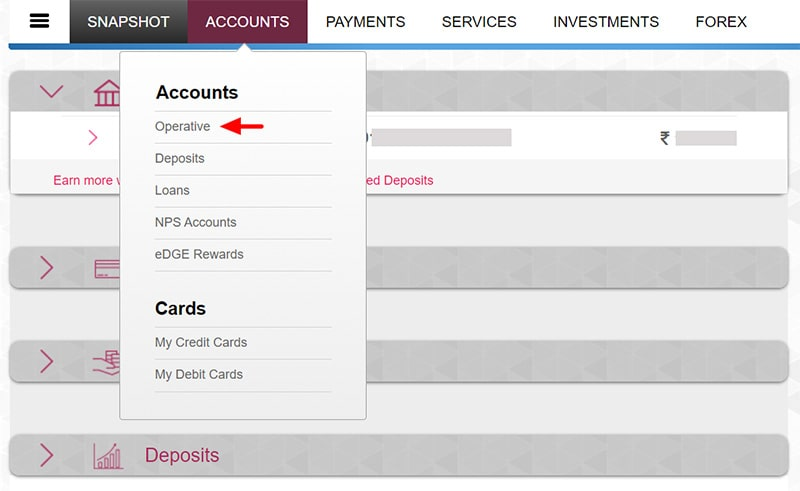 axis bank branch change