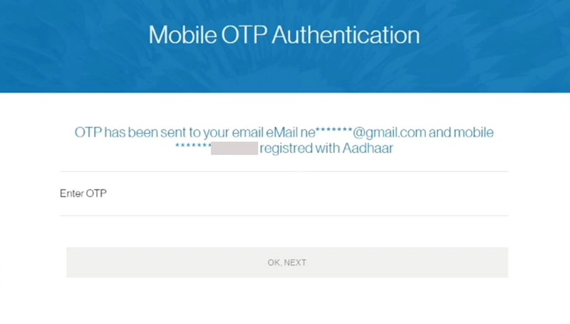 enter otp for for standard chartered bank account opening