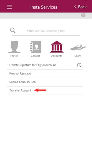 axis bank transfer account