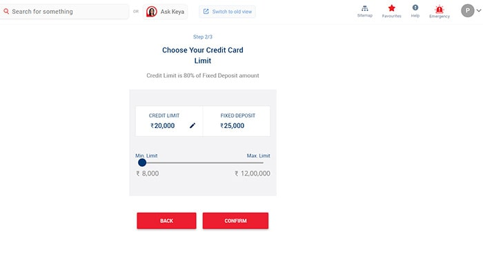 choose your credit card limit for kotak 811 dream different credit card apply