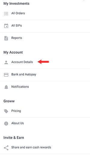 groww account permanently close account details