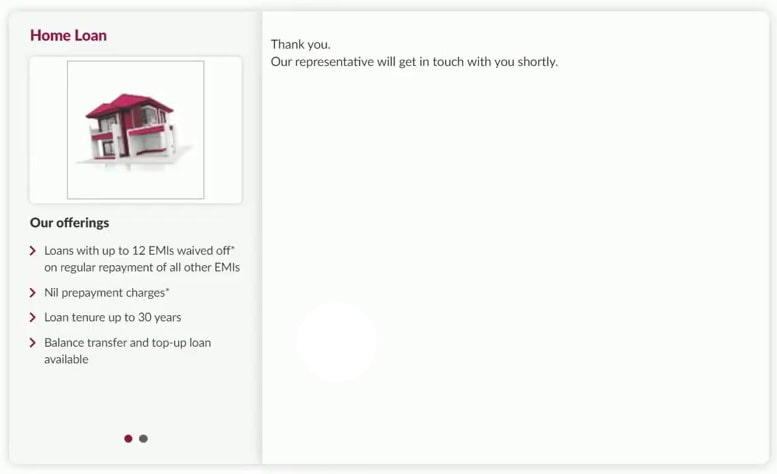 successfully applied axis bank asha home loan